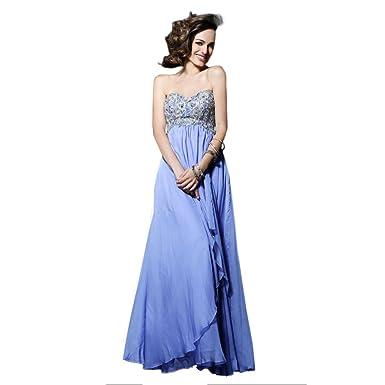 Sherri Hill Strapless Chiffon Gown Lilac - 0