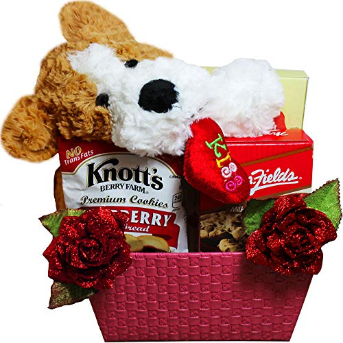 Gift Baskets Puppy Hugs and Cookie Kisses Gift Baskets ()