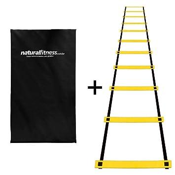 a4ee9259a4 Kit Escada Agilidade + Colchonete Ginástica Academia D23  Amazon.com ...