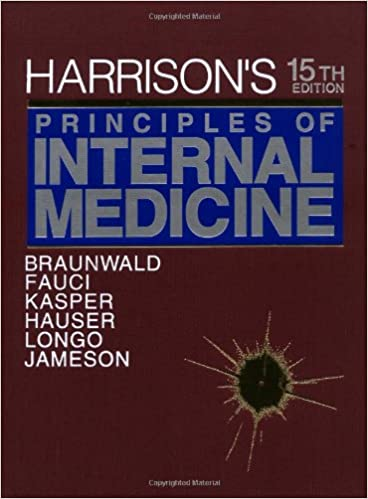 Harrisons principles of internal medicine 15th edition harrisons principles of internal medicine 15th edition 9780070072725 medicine health science books amazon fandeluxe Gallery