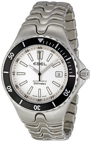 Ebel-Mens-1215462-Sportwave-Diver-White-Dial-Watch