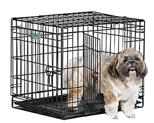 Midwest iCrate Double Door Crate with Divider for Pets, 42-Inch (Midwest Dog Crate 42)