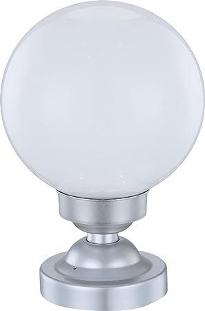 globo ip44 led solar outdoor table lamp amazon co uk garden outdoors