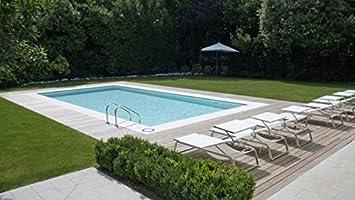 CPA Pools Kit Pool interrata Kreta 10 x 4 mt rechteckig ...