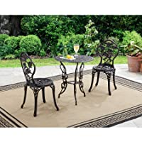 Better Homes and Gardens Rose 3-Piece Bistro Set (Bronze)