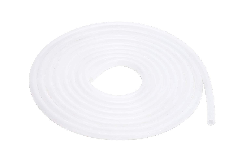 Longitud de 5m TEN-HIGH Tubo de Silicona Manguera de Agua//Aire 10mm x 15mm de Grado Industrial