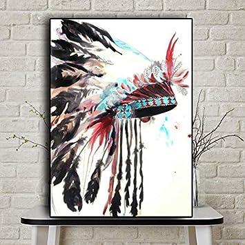jzxjzx Impresionista Caballo Lienzo Pinturas Impresión Digital Carrera Caballo Estampado Impresiones y Carteles para Sala de Estar 30x45cm SIN Marco