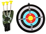 AMPERSAND SHOPS Children's Military Toy Crossbow Set with Target