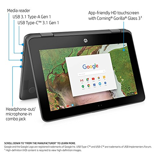 51bG%2BUW726L - HP 11-ae010nr Chromebook 4GB RAM, 16GB eMMC with Chrome OS