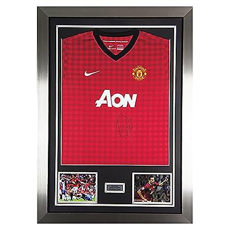MemorabiliaOutlet Robin Van Persie Firmato Man Utd favolosa