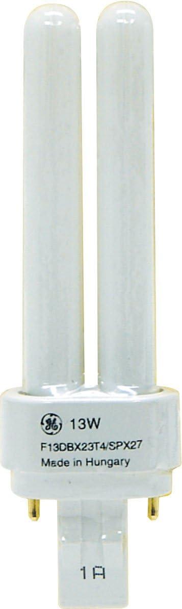 10-Pack GE Energy Smart CFL 97588 13-Watt 810-Lumen Double Biax Light Bulb with Gx23-2 Base