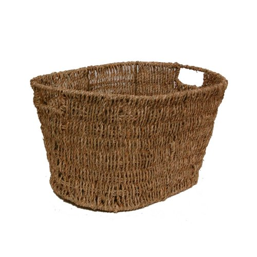 The Lucky Clover Trading Seagrass Storage Basket (Seagrass Laundry Basket)