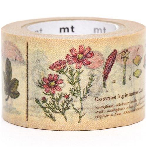 breites mt Washi Masking Tape Klebeband mit Pflanzen Kawaii modes_165914