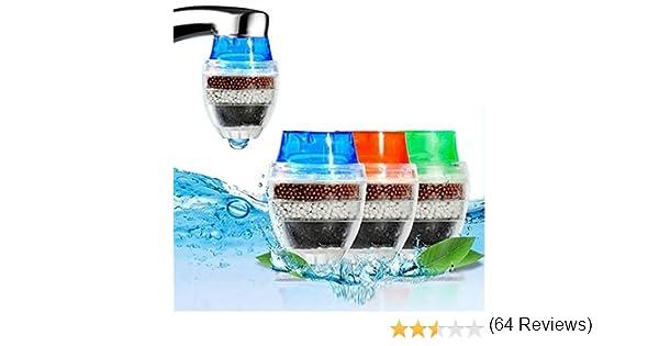 MITOBOM - Filtro de agua para grifo (3 unidades, cartucho de ...