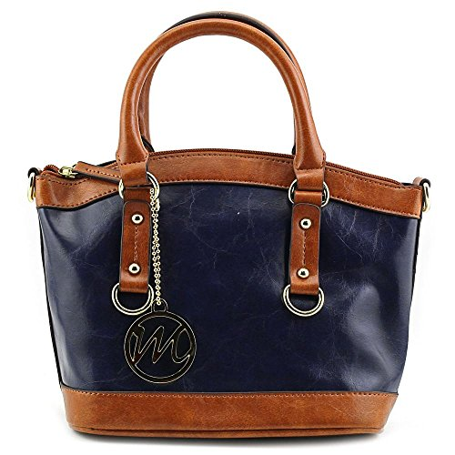 emilie-m-kimberley-two-tone-small-dome-satchel-top-handle-bag-navy-blue-one-size
