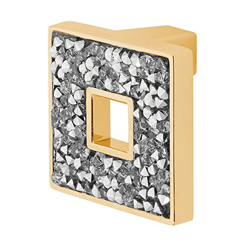 Wisdom Stone 4204GP Carraway 1-5/16 In. Cabinet Knob, Polished (Architectural Stone)