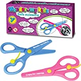 Kids Right & Left Hand Scissors Spring Blunt Tip Safety Scissors 2pc Deal