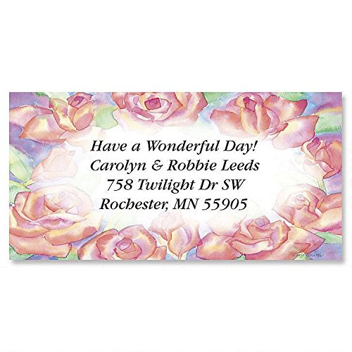 Colorful Address Labels (Wonders Self-Adhesive, Flat-Sheet Border Address Labels (12 Designs))