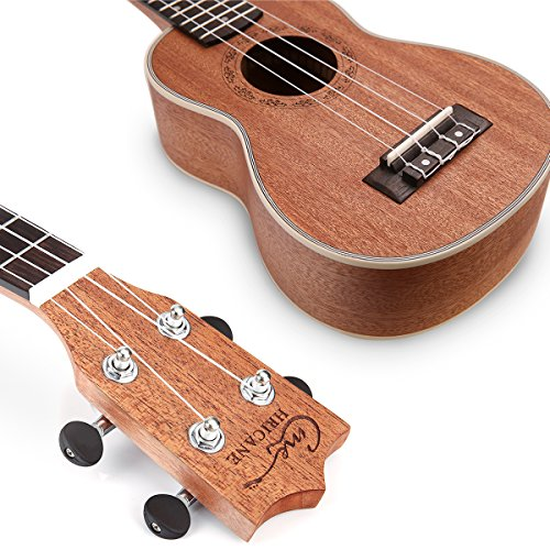 Hricane Tenor Ukulele 26inch Professional Ukelele For Beginners Hawaiian Uke UKS-3 Bundle with Gig Bag - Image 6