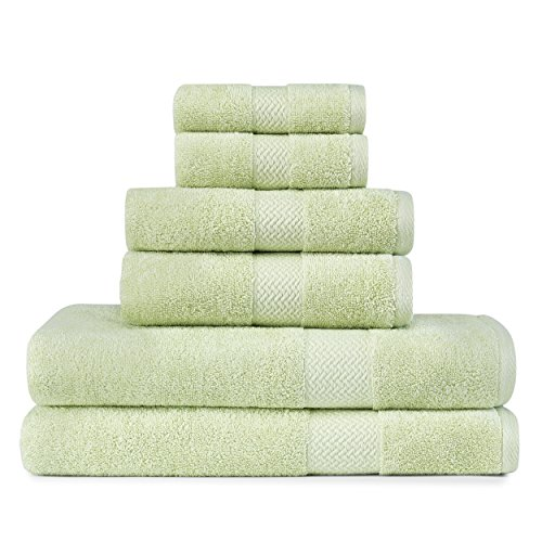 - Tommy Bahama 220035 Cypress Towel Cypress 6Piece Towel Set,Kiwi