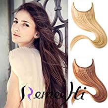 """Remeehi 16""""-30"""" Hidden Halo Straight Invisible Wire One Piece Secret Human Hair Extensions 100G (30"""" 60#)"""