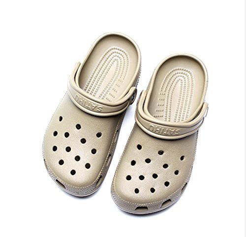 Beach summer sandals non-slip large size Baotou hole perforated cool sandals 41