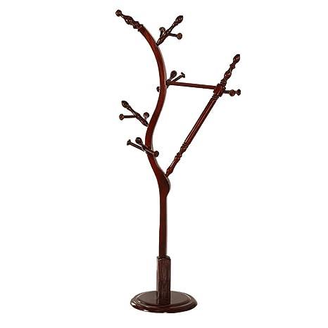 Perchero YNN Colgador árboles Colgador de pie de pie Poste ...
