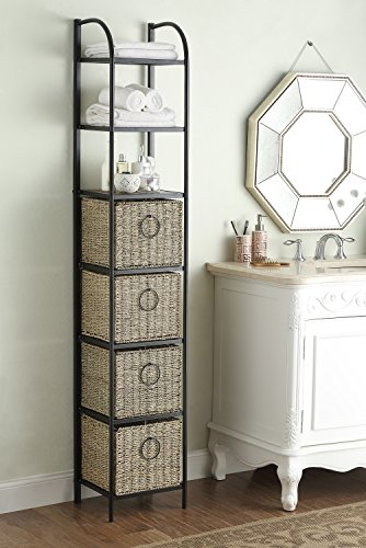 Windsor Bookcase With Baskets Review