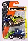 Matchbox 2017 MBX Construction Quarry King (Wheel Loader) 76/125, Blue
