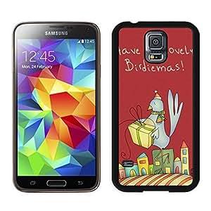 Best Buy Design Christmas Bird Black Samsung Galaxy S5 Case 2