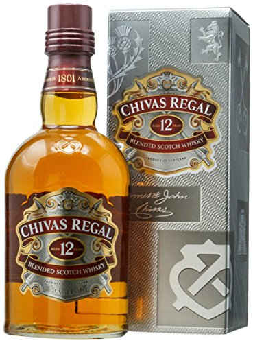 Whisky Chivas Regal 12 anos, 750ml