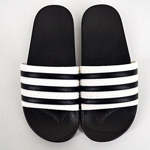 douche Chaussures Stripe de Millya le antidérapantes Classic Unisex Pantoufles bain pour Slippers qqPHwO
