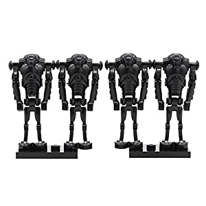Feleph 40 PCs Supper Battle Droid Cannon - Blaster Arm Set Army Builder Compatible with All Major Brands