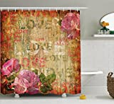 Makeover your bathroom with just a single touch! Start with these fun and decorative shower curtains. These unique designs match well with various color palettes of towels, rugs, bathroom mats and any other bathroom accessories. It's a quick ...