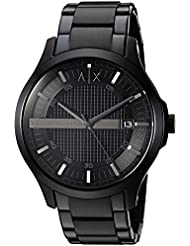 Armani Exchange Mens AX2104  Black  Watch