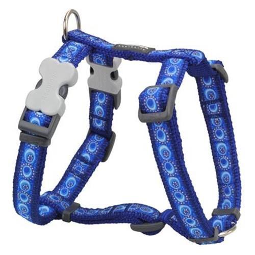 Red Dingo Designer Dog Harness, X-Large, Cosmos Dark Blue
