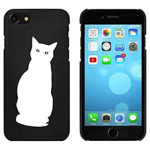 Noir 'Chat Curieux' étui / housse pour iPhone 7 (MC00075375)