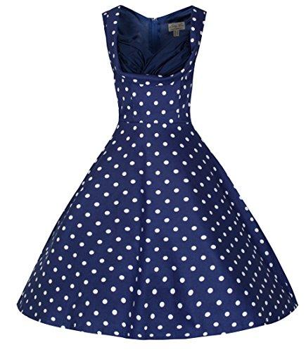 Lindy-Bop-Ophelia-Vintage-1950s-Polka-Dot-Party-Picnic-Dress