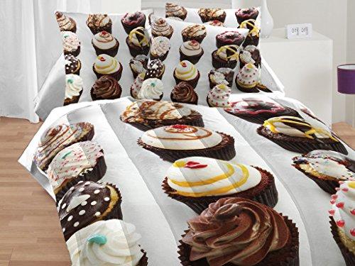 Textile City Inc Cupcakes 4-Piece Comforter Set 4 Piece -