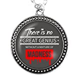 Madness Necklace Silver Pendant