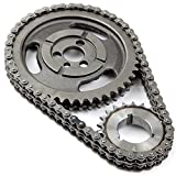 ECCPP C-3023XSP Heavy Duty Timing Chain Set; Incl. Cam Sprocket 3 Keyway Crank Sprocket Double Roller Chain
