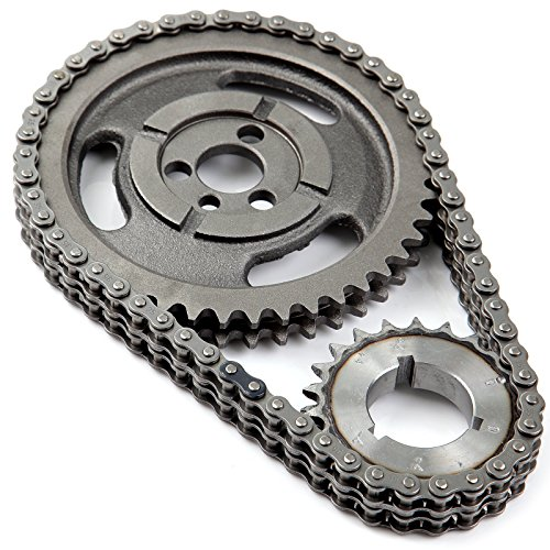 Timing Chain Set Heavy Duty C-3023XSP , ECCPP Incl. Cam Sprocket 3 Keyway Crank Sprocket Double Roller (Timing Chain Sprocket)