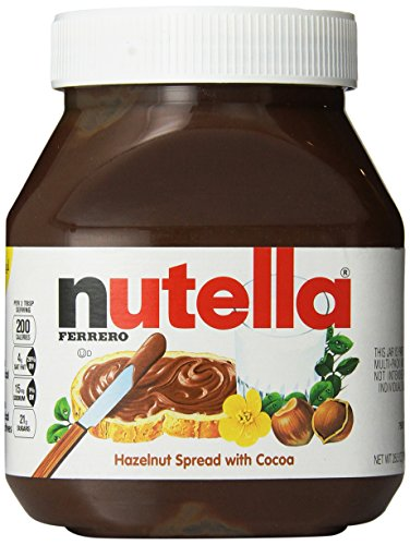 Spread Hazelnut Chocolate Nutella - Nutella, 26.5 oz (Pack of 2)