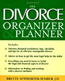 The Divorce Organizer and Planner, Brette McWhorter Sember, 0071429611