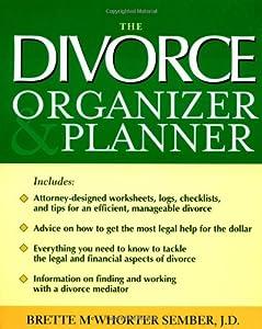 The Divorce Organizer Planner