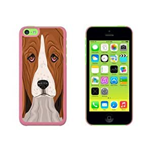 Basset Hound - Dog Pet Snap On Hard Protective For SamSung Note 4 Phone Case Cover - Pink