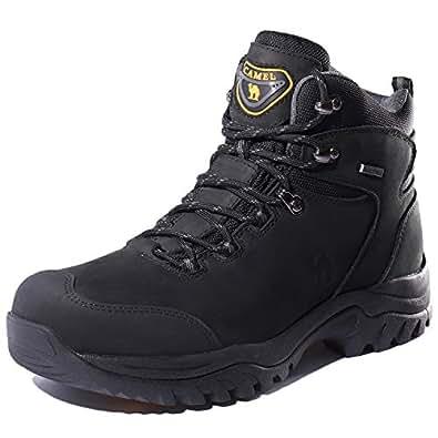 Amazon.com | CAMEL CROWN Men's Waterproof Hiking Boots