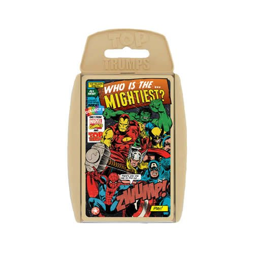 Top Trumps Marvel Comics Retro Card