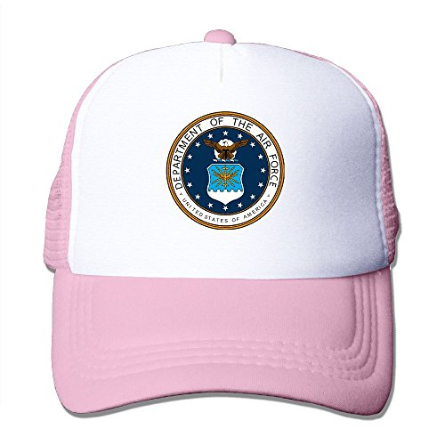 Air Force Emblem- Classic Trucker Hat Baseball Cap Adjustable Sun Hat