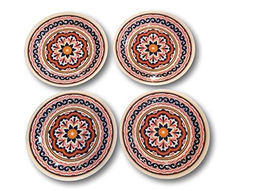 Summer Designs Melamine Serving Plates, Trays, Bowls - Flora